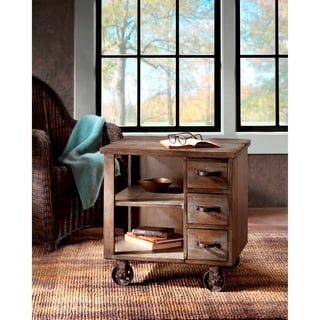 Madison Park Ronin Grey End Table