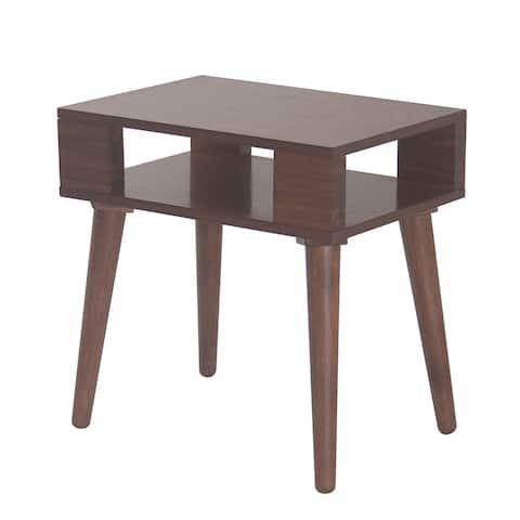 Carson Carrington Vohma Mid-century Wood End Table