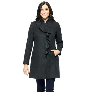 Larry Levine Women's Wool Coat