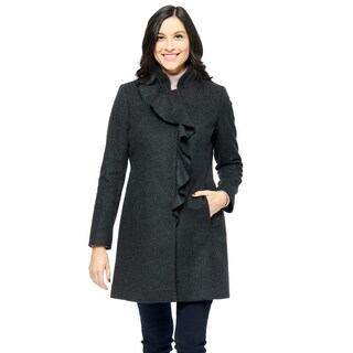 Larry Levine Women's Wool Coat