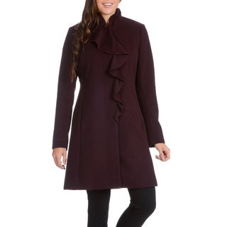 Ladies Petite Wool Coat