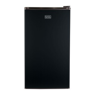 Black and Decker 3.2 cu ft. Compact Fridge, Black