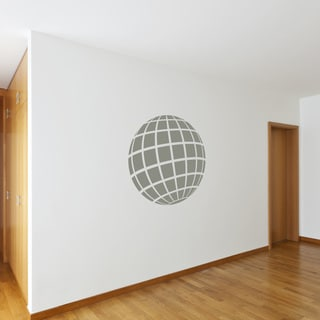 Style and Apply Retro 3D Sphere Vinyl Wall Art