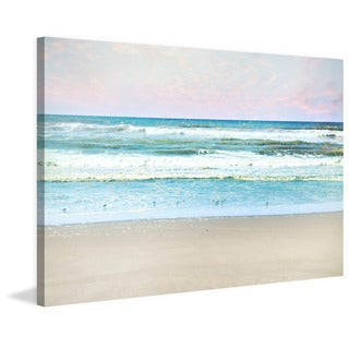 Marmont Hill - 'Summer Beach' by Sylvia Cook Painting Print on Wrapped Canvas