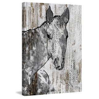 Marmont Hill - 'Beauty' by Irena Orlov Painting Print on Wrapped Canvas
