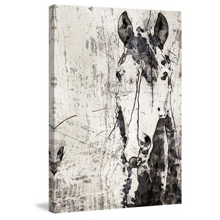Marmont Hill - 'French Kiss' by Irena Orlov Painting Print on Wrapped Canvas
