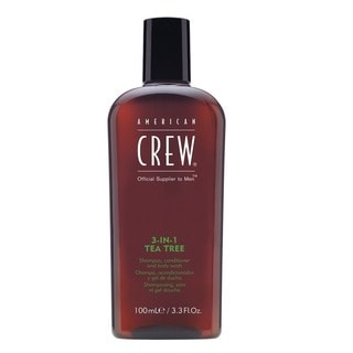 American Crew 3-in-1 Tea Tree Shampoo, Conditioner, and Body Wash