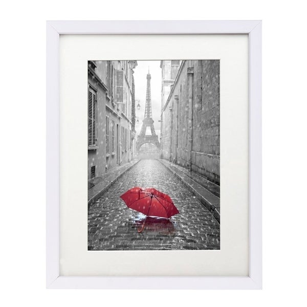 Shop 11 X 14 Inch White Wall Picture Frame With Glass For 8 X 10