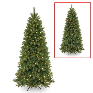 Lehigh Valley Pine 7.5-foot Slim Hinged Tree with 450 LED Lights