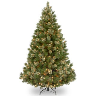 Wispy Willow 7.5-foot Grande Medium Tree with Clear Lights