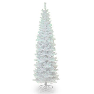 White Iridescent Tinsel 6-foot Tree