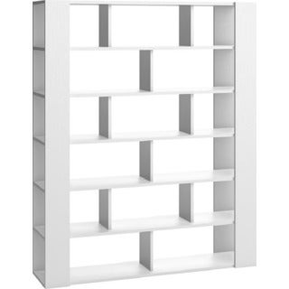 Voelkel 4 You Collection White Pine Open-sided Bookcase