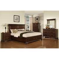 Picket House Furnishings Brinley Cherry King Storage 6PC Bedroom Set