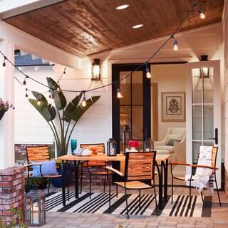 Kokomo 47-inch Square Teak Outdoor/Indoor Dining Table