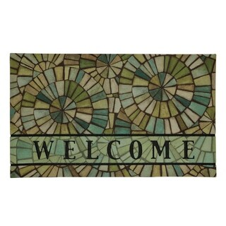 "Mohawk Home Doorscapes Kaleidoscopic Sea Doormat (1'6 x 2'6) - 1' 6"" x 2' 6"""