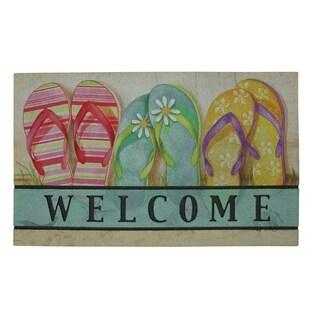 "Mohawk Home Doorscapes Flipflops Inthe Sand Doormat (1'6 x 2'6) - 1' 6"" x 2' 6"""