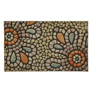 Mohawk Home Doorscapes Bohemian Pebble Light Mat (1'6 x 2'6)