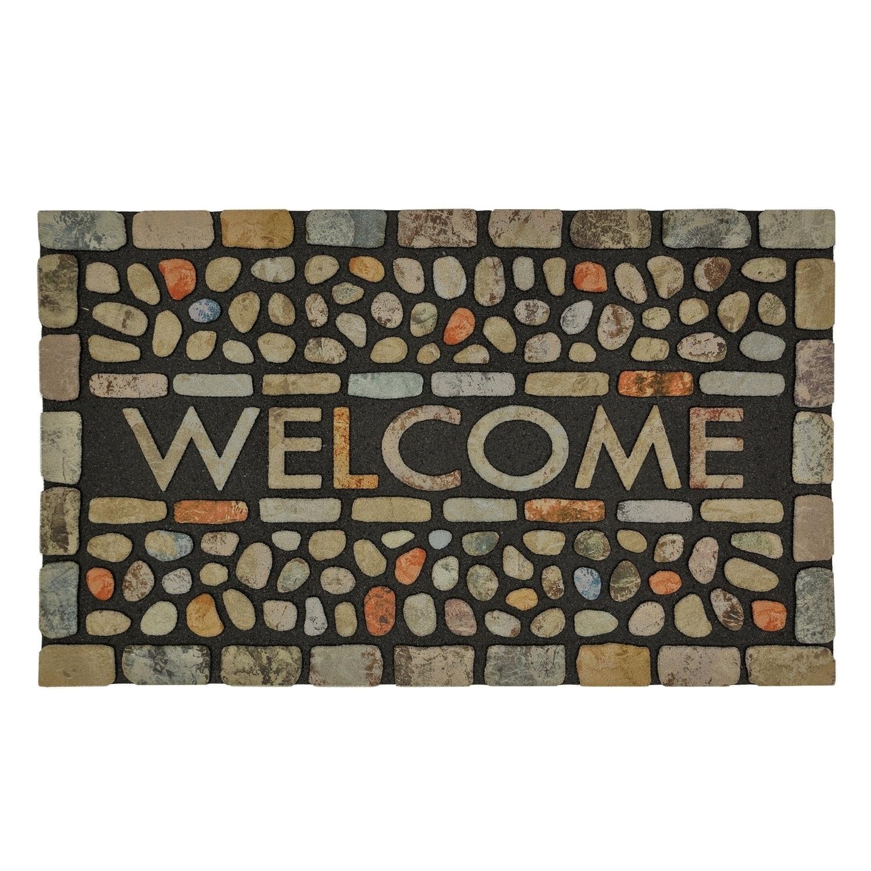 MOHAWK Home Doorscapes Pebble Brook Light Mat (1'6 x 2'6)...