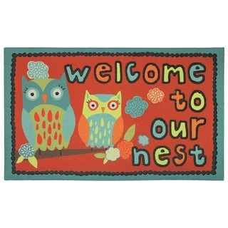 Mohawk Home Doorscapes Our Nest Welcome Mat (1'6 x 2'6)