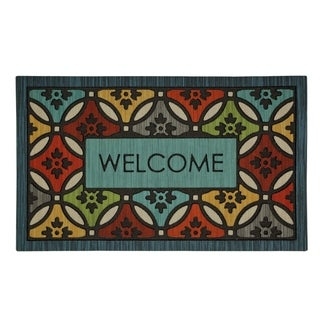 Mohawk Home Doorscapes Clementine Shades Mat (1'6 x 2'6)