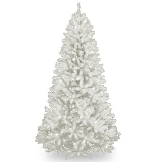 North Valley White Spruce 7-foot Artifical Tree with 550 Clear Lights