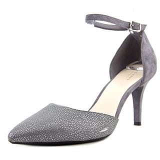 Cole Haan Women's Saybrook Pump II Grey Leather Dress Shoes