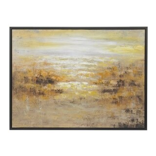 Three Hands Landscape Oil-on-canvas Framed Painting