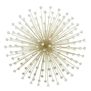Three Hands Gold Metal Jeweled Ornament