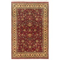 eCarpetGallery Pako Persian Red Wool and Cotton Hand-knotted Oriental Area Rug (4' x 6'1)