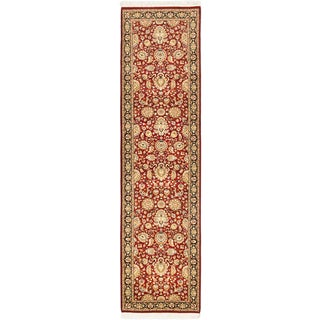 eCarpetGallery Hand-knotted Pako Persian18/20 Red Wool Rug (2'7 x 10'0)