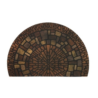 "Mohawk Home Doorscapes Estate Exploded Medallions Mat (1'11 x 2'11) - 1'11"" x 2'11"""