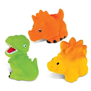 Puzzled Bath Toys and Squirters Bath Buddies Collection (Set of 3)