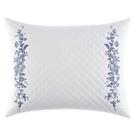 Laura Ashley Charlotte 16x20 Quilted Breakfast Pillow