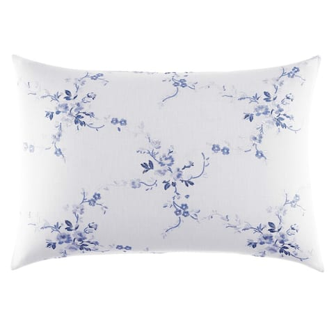 Laura Ashley Charlotte 14x20 Embroidered Breakfast Pillow