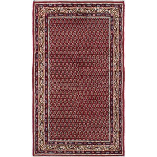 eCarpetGallery Royal Sarough Red Hand-knotted Wool/Cotton Rug (3' x 5')