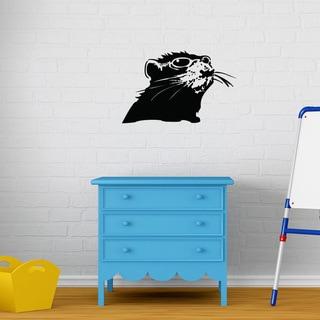 'Rat with Shades' Banksy Vinyl Wall Decal