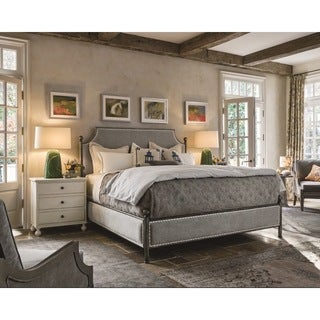 Universal Grey Lake Upholstered Respite Bed
