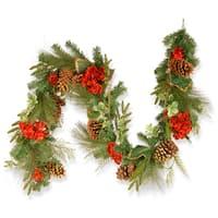 Hydrangea Pine 72-inch Garland
