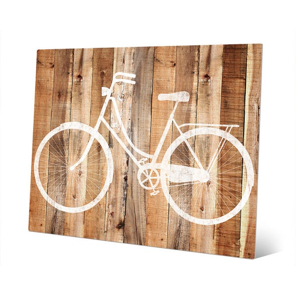 Shop \'Bicycle\' Metal Wall Art - On Sale - Free Shipping Today ...