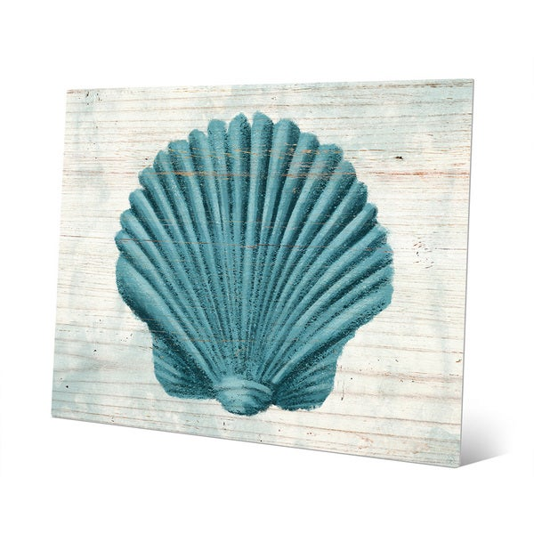 Seashell Aegean Metal Wall Art