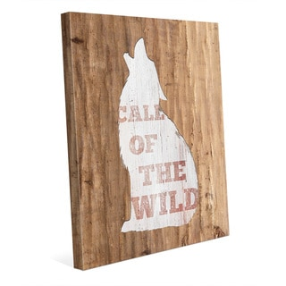 'Call of the Wild' Multicolored Canvas Wall Art