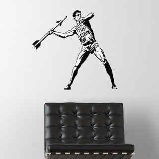 Banksy 'Olympic Threat' wall decal, sticker, mural vinyl art home decor