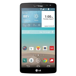 LG G Vista VS880 Verizon Unlocked 4G LTE Quad-Core Android Phone - Black