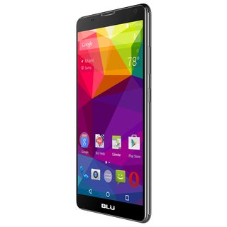 BLU Studio X6 S490U Unlocked GSM Quad-Core Android Phone - Black
