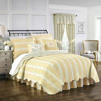 Waverly Paisley Verveine Multi Piece Quilt Set