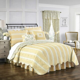 Waverly Paisley Verveine 4-piece Quilt Set