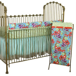 Cotton Tale Lagoon Front Rail Cover Up 4-piece Bedding Set