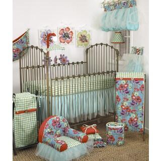 Cotton Tale Lagoon Multicolor Cotton 7-piece Bedding Set