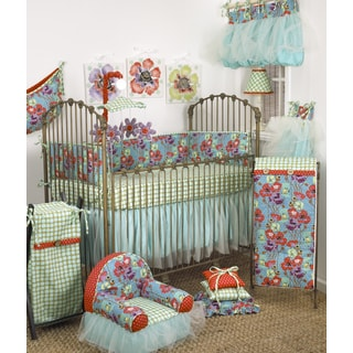Cotton Tale Lagoon Cotton 8-piece Baby Bedding Set