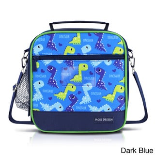 Jacki Design Kids Large Insulated Lunch Bag (Option: Navy)